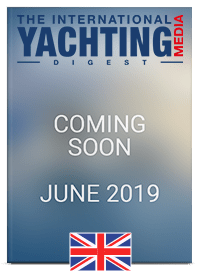 the international yachting media digest cover ENG June 2019 Coming Soon